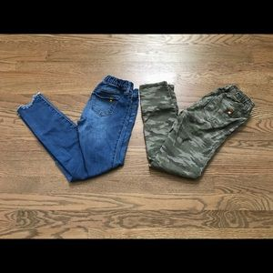 Abercrombie and Fitch kids jeans bundle.